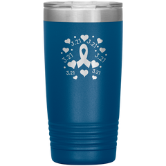 3-21 Down Syndrome Awareness Stainless Steel Insulated Cup