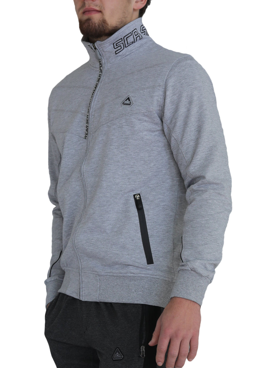 SCR Light Heather Gray sweatshirt/Hoodie