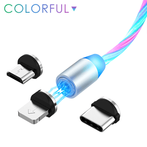 LED Flowing Charging Cable