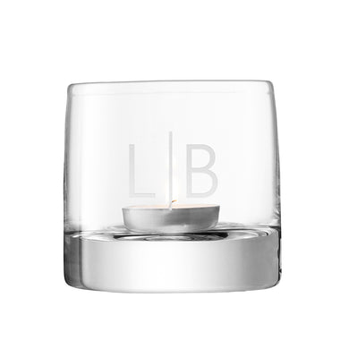 LSA Monogrammed Light Tealight Holder