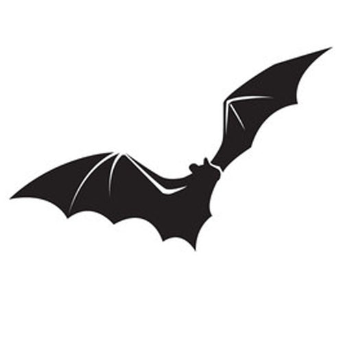 Halloween Vinyl Sticker - Bat 1