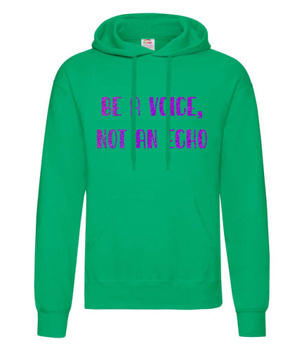 Be A Voice, Not An Echo - Women's Hoodie