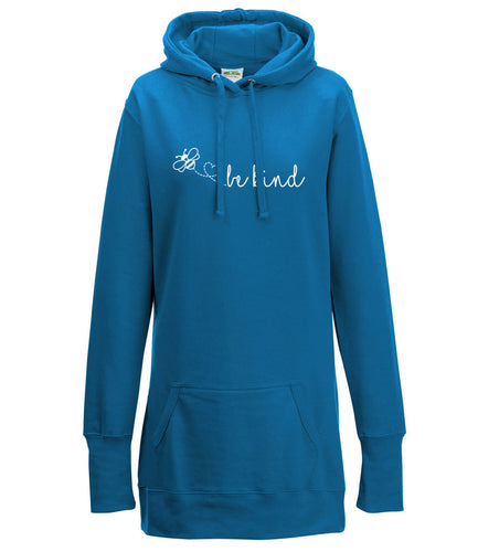 Bee Kind - Long Line Hoodie