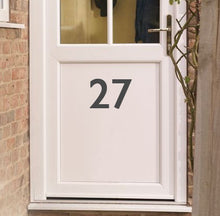 Load image into Gallery viewer, House Door Number - Vinyl Sticker - Choose Colour and Size