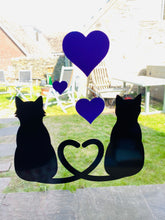Load image into Gallery viewer, Two Cats With 3 Hearts