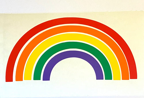 Rainbow - Vinyl Sticker