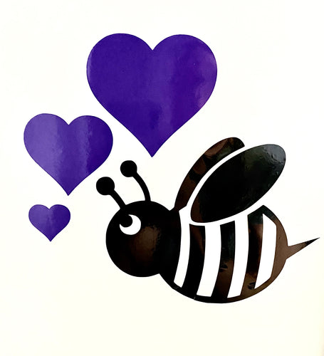 Wildlife Animals With 3 Coloured Hearts - Select Your Animal