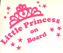 Load image into Gallery viewer, Little Princess On Board - Car Sticker