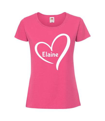 Name and heart - Women's T-Shirt
