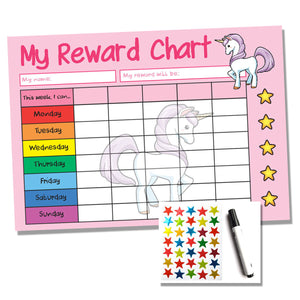 Unicorn A4 Reward Chart