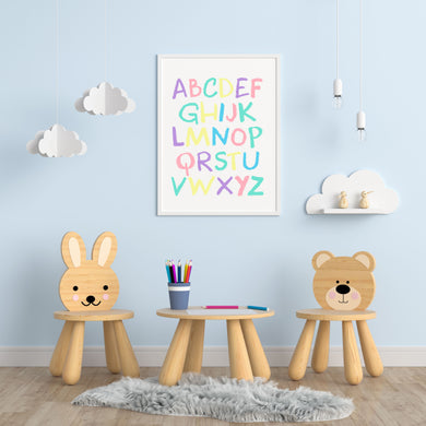 Alphabet A4 Print - Children's Prints