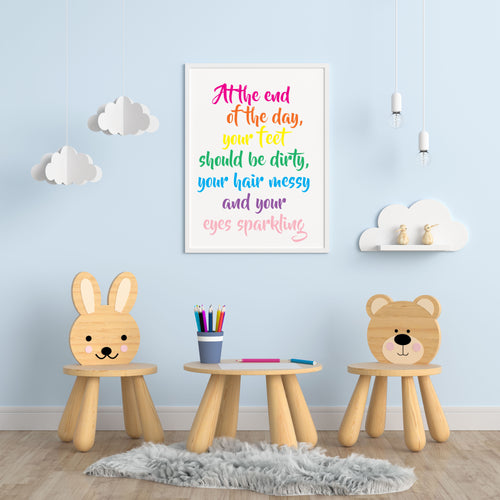 Being A Child A4 Print - Children's Prints
