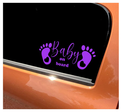 Baby On Board - Car Sticker