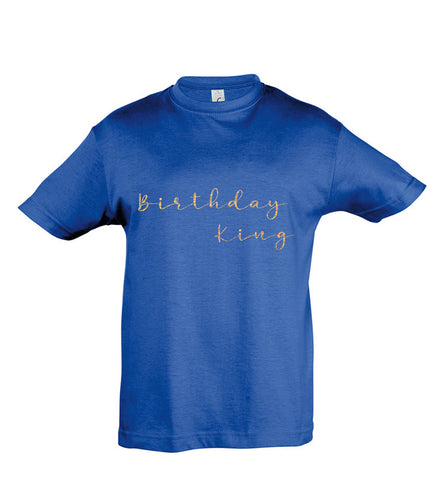 Birthday King - Birthday T-shirt