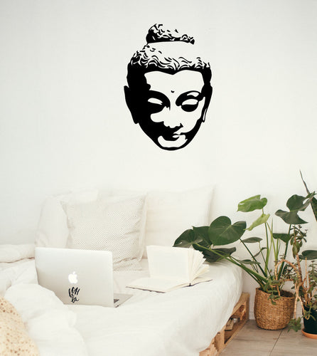 Buddha Head - Bedroom Wall Art
