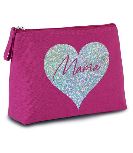 Make Up / Toiletries Canvas Bag  - Mother's Day Gift