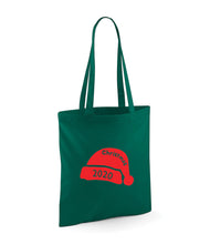 Load image into Gallery viewer, Christmas 2020 Santa Hat - Tote Bag