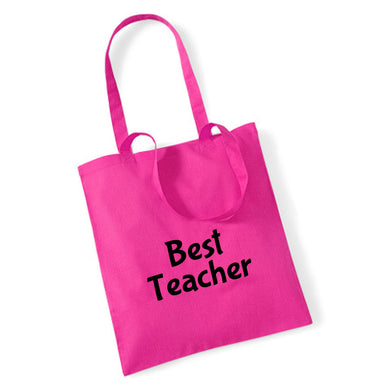 Best Teacher - Tote Bag With Personalisation Option