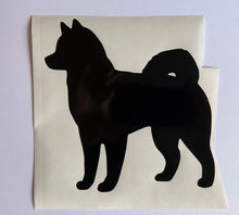Load image into Gallery viewer, Dog Silhouette with hearts - Choose your Breed and Heart Colour