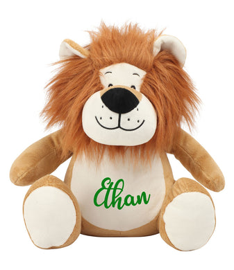 Personalised Name - Large Lion Teddy