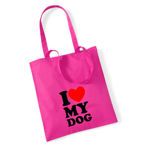 I Love My Dog - Tote Bag