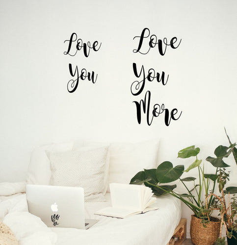 Love You - Bedroom Wall Art