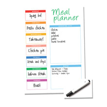 Load image into Gallery viewer, Weekly Reusable A4 Meal Planner