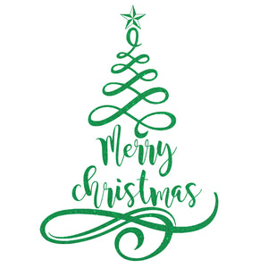 Christmas Tree - Christmas Wall / Window Sticker
