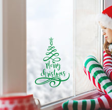 Load image into Gallery viewer, Christmas Tree - Christmas Wall / Window Sticker