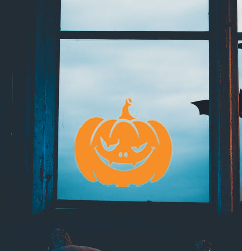 Halloween Vinyl Sticker - Pumpkin 2