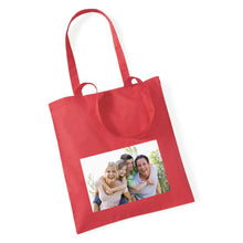 Load image into Gallery viewer, Personalised Photo Tote Bag