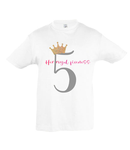 Royal Fiveness - Birthday T-shirt