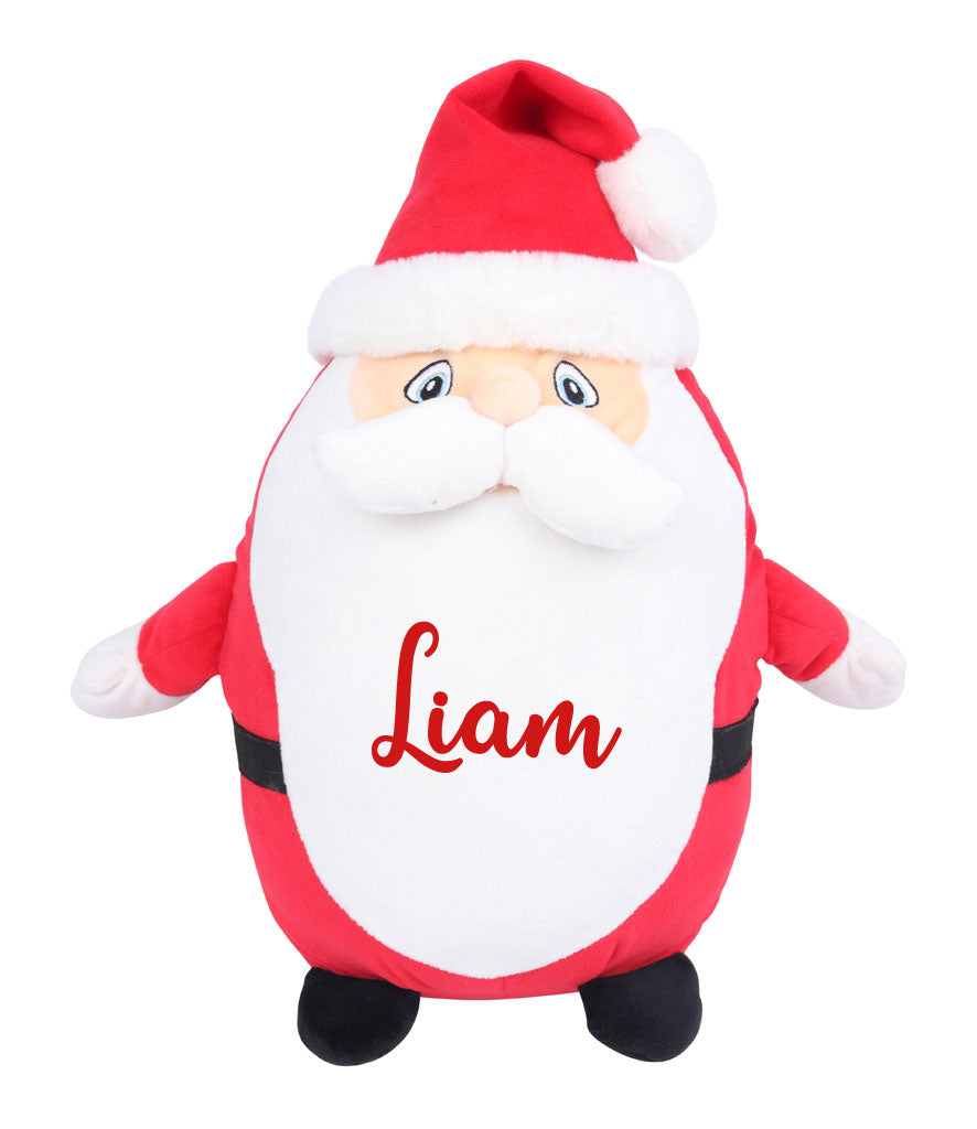 Personalised Name - Large Santa Teddy
