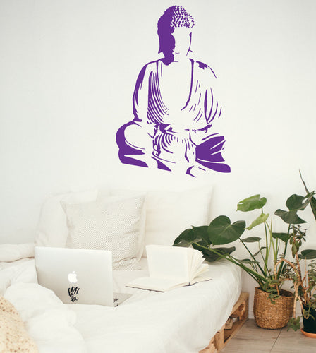 Sitting Buddha - Bedroom Wall Art