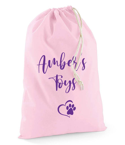 Personalised Pet Toy Stuff Bag - Pet Gifts / Accessories