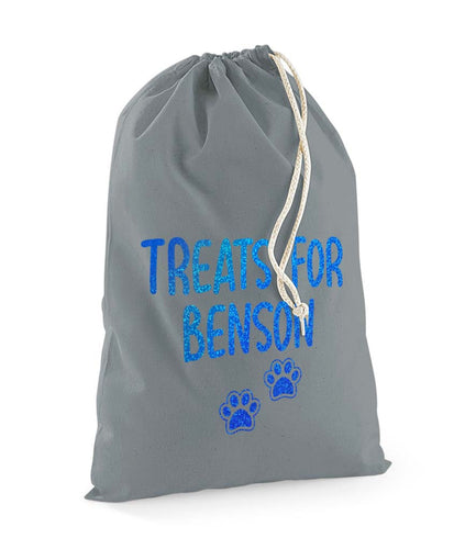 Personalised Pet Treats Stuff Bag - Pet Gifts / Accessories