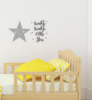 Twinkle Twinkle Little Star - Children's Wall Art