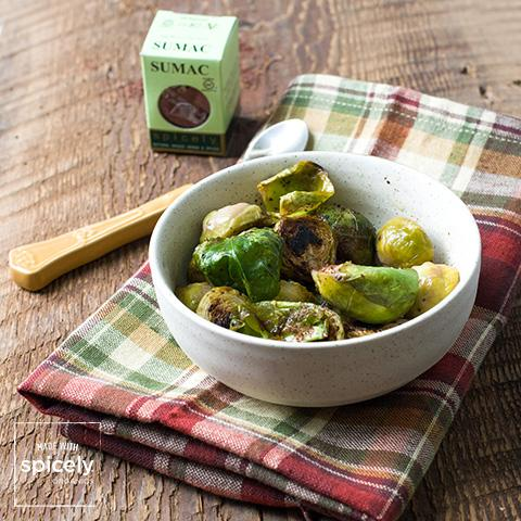 Sumac Roasted Brussels Sprouts