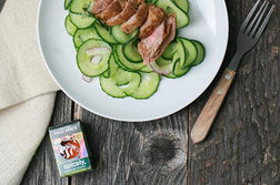 Thai-Inspired Cucumber Salad & Tri-Tip