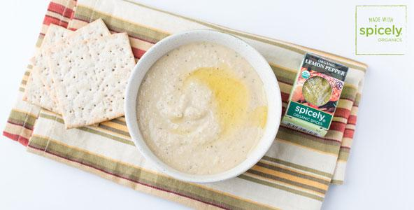 Lemon Pepper Hummus
