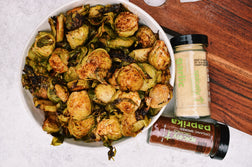 Spiced Roasted Brussel Sprouts