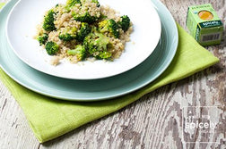 Turmeric Coconut Quinoa with Broccoli