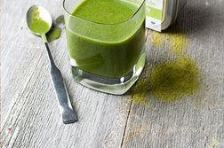 Matcha Vanilla Green Smoothie