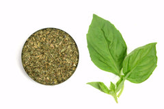 Organic Basil Leaves, Whole