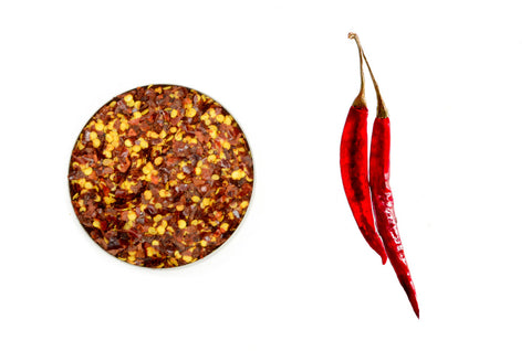 Organic Chili Pepper, Crushed - Spicely Organics  - 1