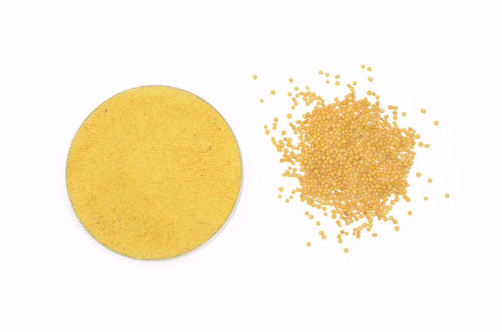 Organic Mustard Seeds Yellow, Ground - Spicely Organics