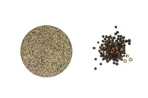 Organic Peppercorn Black, Crushed (28 Mesh) - Spicely Organics  - 1
