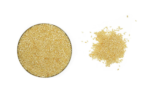 Organic Sesame Seeds White - Spicely Organics  - 1