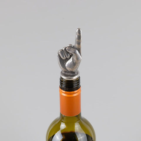 Famous Finger Wine Stopper