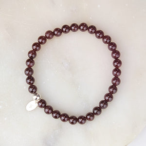 Raw Gemstone Bracelet